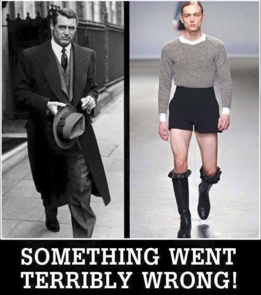 Silly mens clothes terribly wrong
