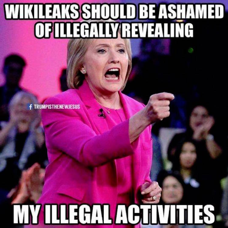 clinton-shame-on-wikileaks