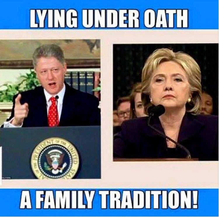 hillary-and-bill-lie-under-oath