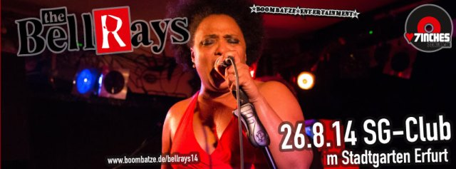 The BellRays | 26.8.14 Stadtgarten