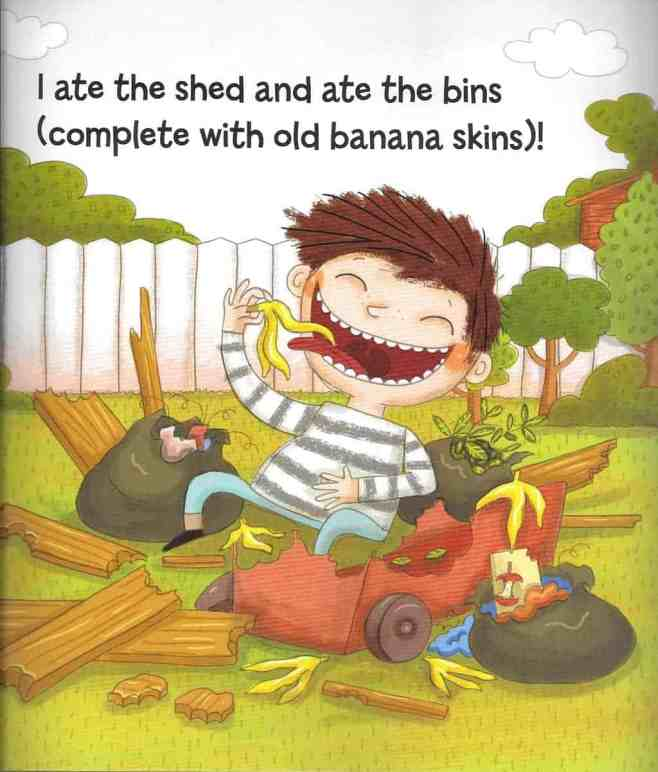 The Boy Who Ate Everything - Shed & Bins
