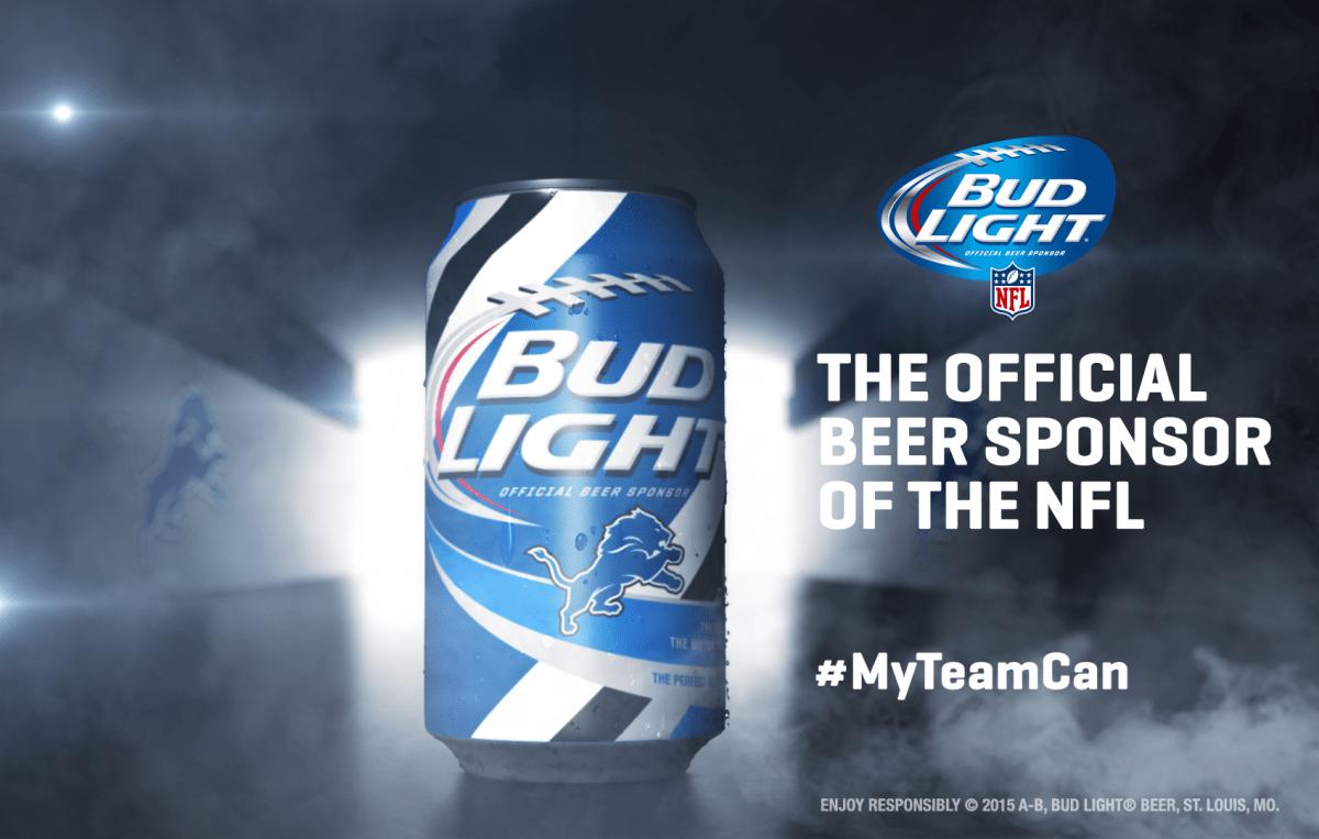 Bud Light Makes #MyTeamCan for 28 NFL Teams