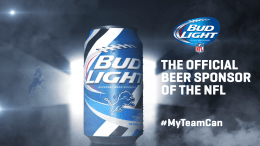 Detroit Lions bud light #myteamcan