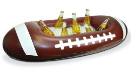 Inflatable football cooler