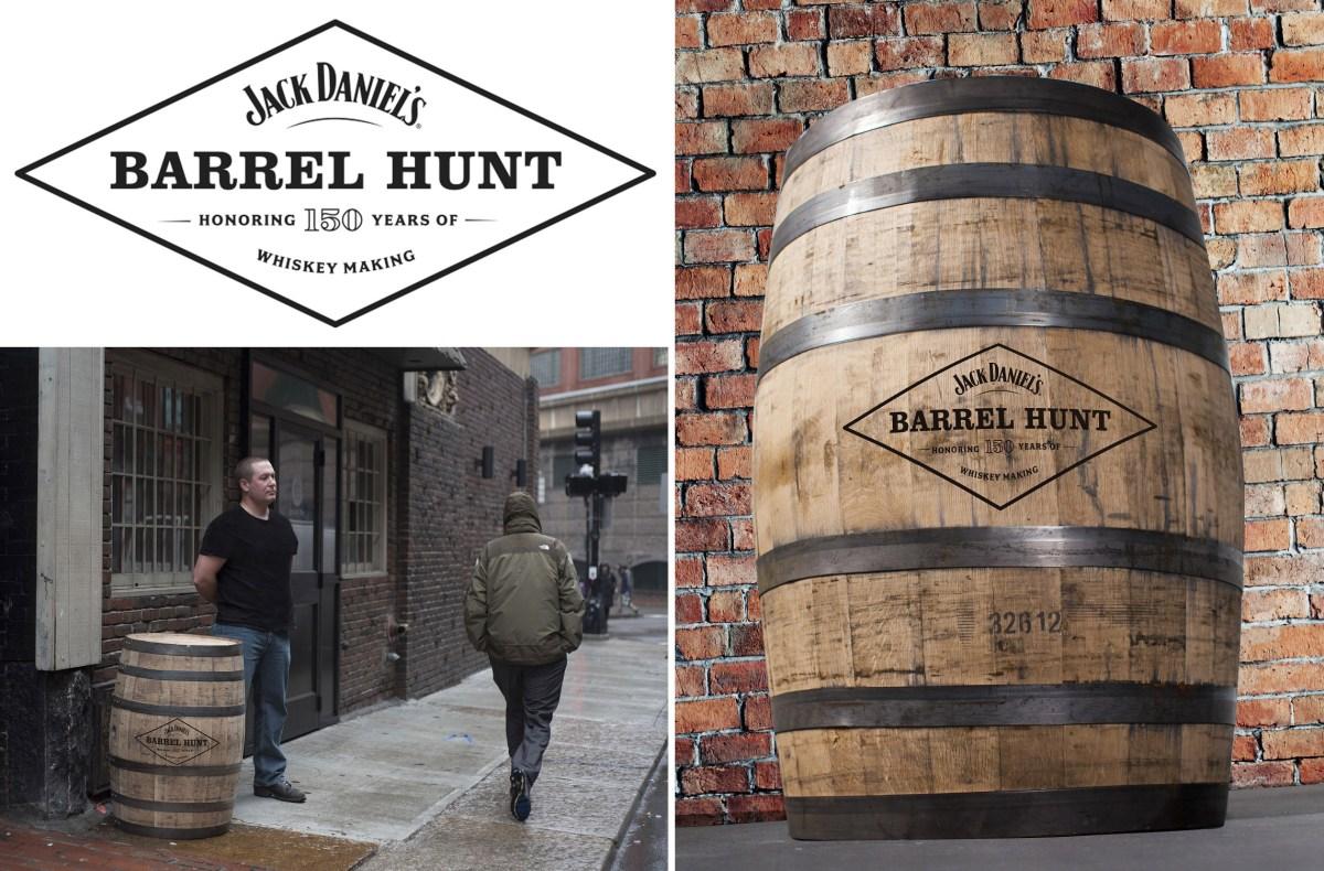 Jack Daniels Barrel Hunt is a global whiskey scavenger hunt