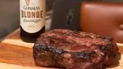 beer-marinated steak