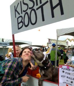 A pit bull kissing booth might initially seem like a cute idea to raise money and combat stereotypes. But what happens when it goes wrong?