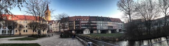 Merchant's Bridge, Erfurt, Germany