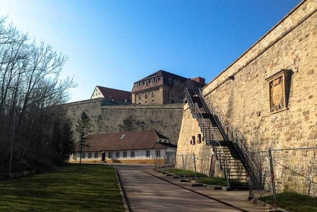 fortress Petersberg, Zitadelle Petersberg, Erfurt, Germany
