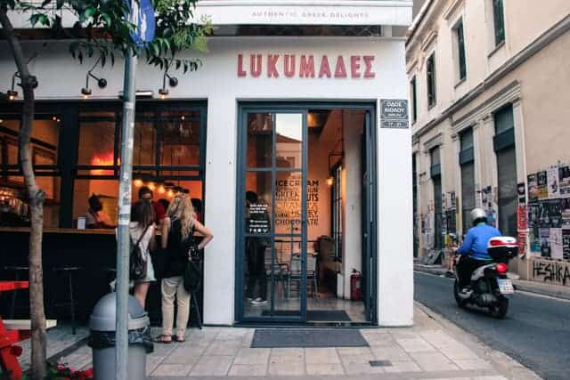 Food in Athens, local cuisine
