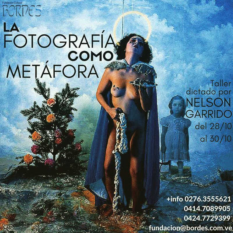 Nelson Garrido dictará curso de fotografía en San Cristóbal