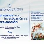 Artista Ender Rodríguez ofrece conversatorio en Bordes Galería Café