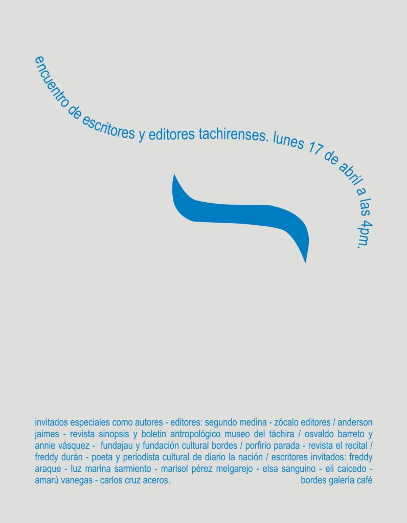 afiche encuentro de escritores2