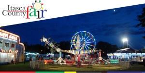 Itasca County Fair banner