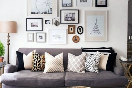 simple but fashionable living room wall decoration ideas 4