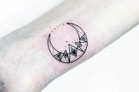 magical moon tattoo designs 20