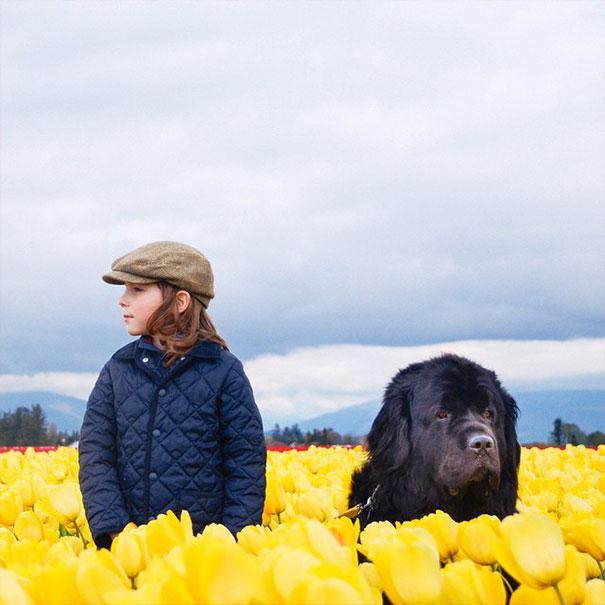 fotos-amistad-hijo-julian-perros-caballo-stasha-becker (8)