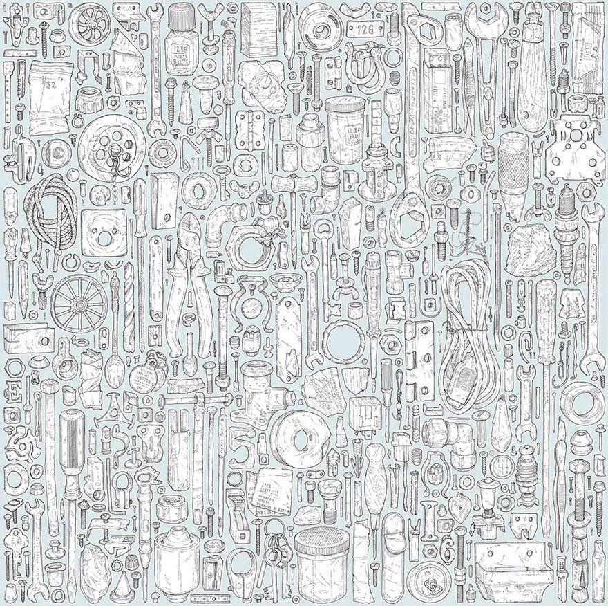 proyecto-dibujo-objetos-cobertizo-abuelo-fallecido-lee-john-phillips (1)