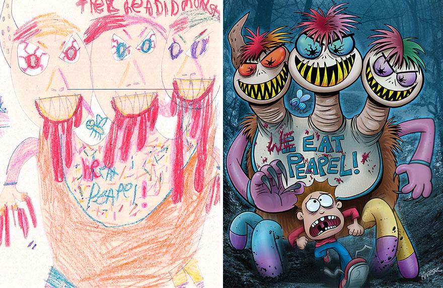 dibujos-infantiles-monstruos-artistas-monster-project (13)