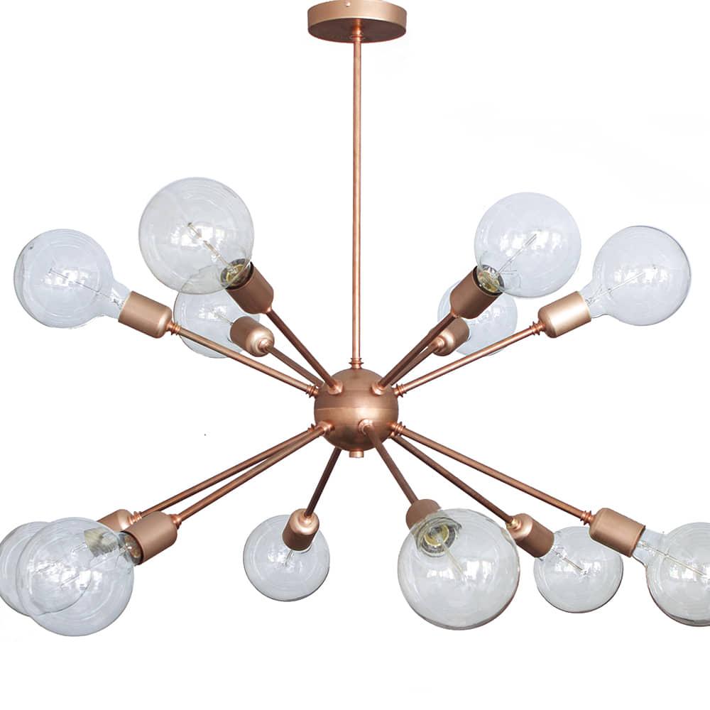 lampara sputnik - decoración - borgia conti