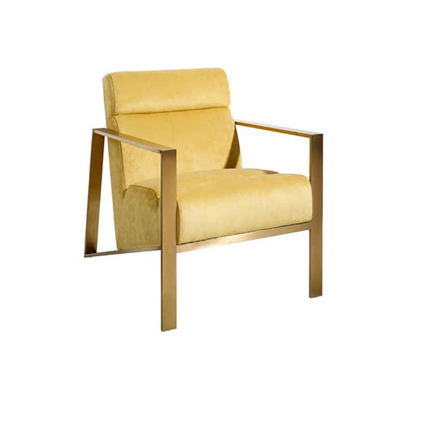 sillon-acero-amarillo-diseño-comod-borgiaconti