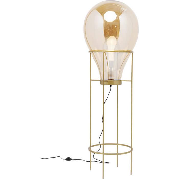 lámparadepie-diseño-dorada-bombilla-diseño-original