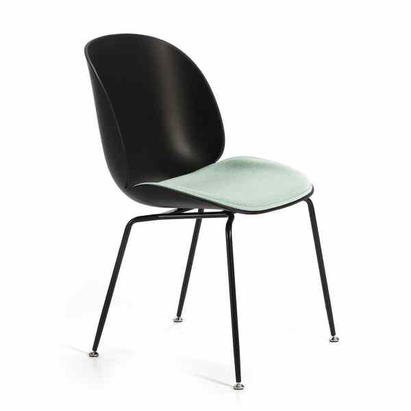 silla-diseño-negra-verde-aguanarina