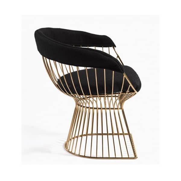 sillon-diseño-metal-dorado-negro-comodo2-borgiaconti