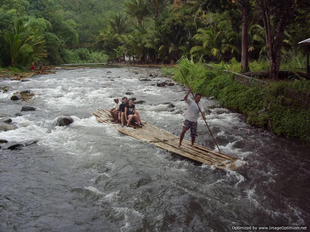 indonesia kalimantan bamboo rafting adventure tours loksado dayak longhouse culture raft the rivers of borneo mount meratus trek expeditions
