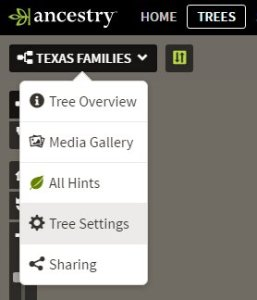 Make your mirror tree private! Select the TREE Tab. Select your tree. Select Tree Settings. Not Pictured: Select Privacy Settings Scroll down and check both boxes in the Private Tree section