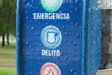 Botones antipánicos con tres funciones: Emergencia, Delito y Siniestro
