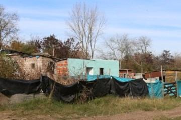 Asentamiento de la avenida Scully / Foto: Infociudad