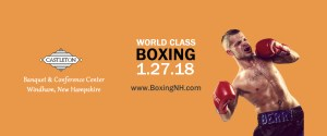 Boxing NH Windham January 27 December Hampton Castleton Cove
