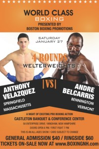 Boxing Windham NH January 27 event tickets