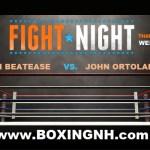 Boxing November 21 Windham NH Billerica Thanksgiving Eve tickets event Castleton