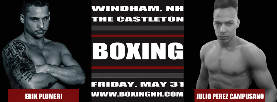 Boxing NH May 31 Windham Castleton April 12 Rim Hampton tickets event