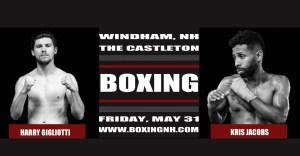 Boxing Windham NH Rim Hampton Castleton May 31 April 12 tickets event
