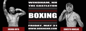 Boxing NH Windham Castleton tickets event Rim Hampton May 31 April 12