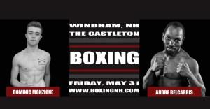 Boxing NH Windham Castleton Hampton Rim April 12 May 31