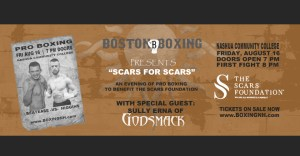 Boxing Nashua NH Godsmack Sully Erna Scars Foundation Nashua Community College tickets event