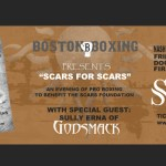 Boxing Nashua NH Godsmack Sully Erna Scars Foundation Nashua Community College tickets event