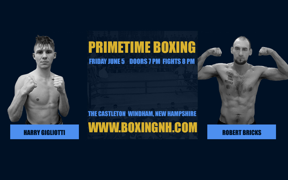 Boxing June 5 Windham NH Castleton tickets event