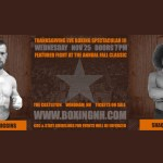 Higgins Gigliotti Moore Boxing Thanksgiving Eve Windham NH Castleton tickets