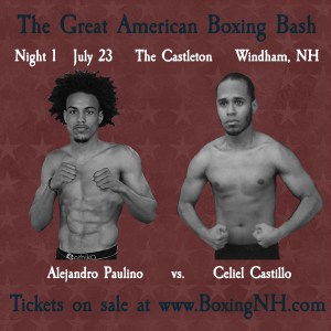 Boston Boxing Windham NH July 23 30 August 6 tickets event