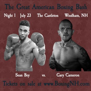 Boxing NH Windham July 23 tickets event