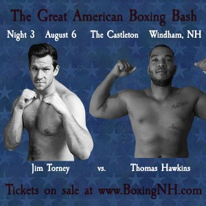 Boxing Windham NH Castleton August 6 July tickets event