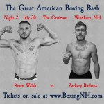 Boxing NH Windham July 30 Castleton tickets event