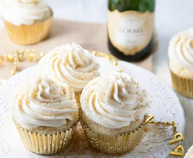 Champagne Cupcakes - Boston Girl Bakes