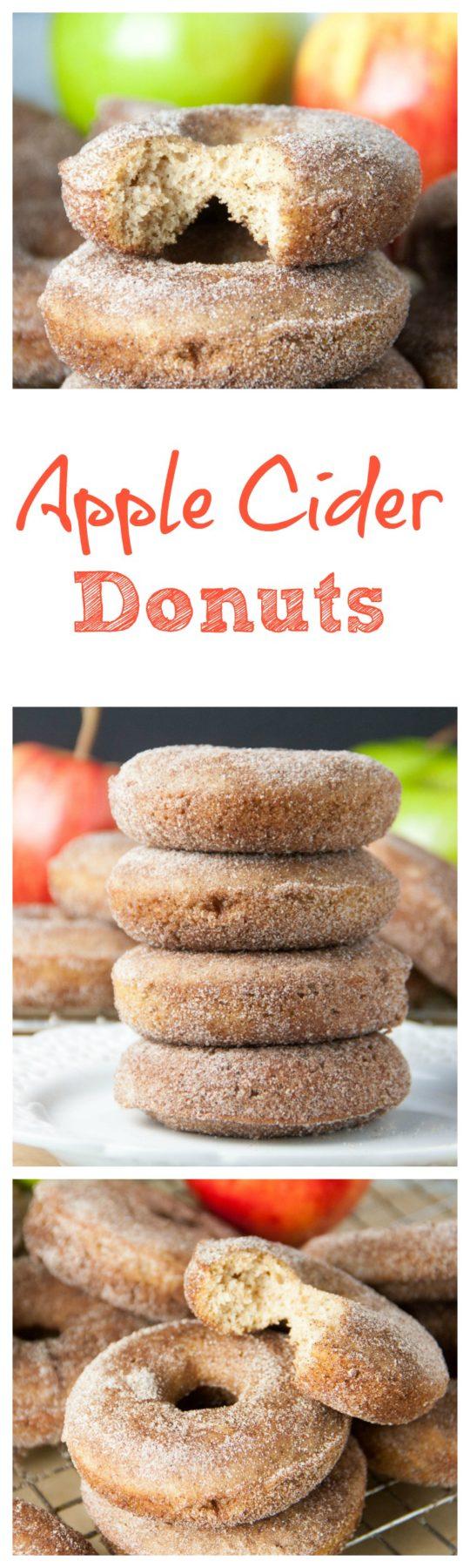 Apple Cider Doughnuts - Boston Girl Bakes
