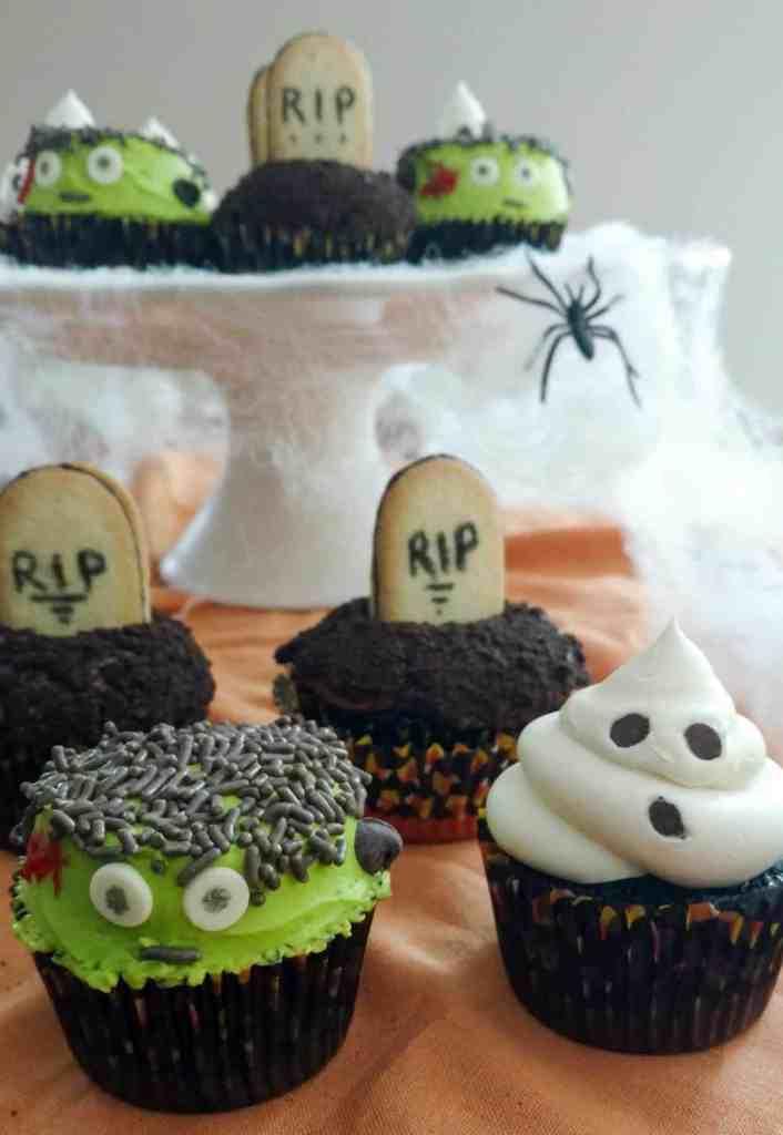 How To Make Halloween Cupcakes